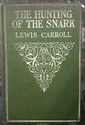 Rare First Edition 1914 Lewis Carroll The Hunting Of The Snark Illust Holiday