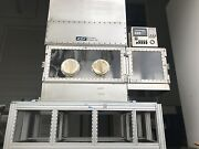 Ats Eco-snow Systems Inc. Stainless Steel Clean Dry Lab Glove Box With Stand
