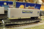 N-scale Custom Painted New Jersey Centralblue Tofc 02137