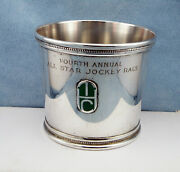 And Co.-1977 All Star-jockey Race Torophy Sterling Julep Cup Sandy Hawley