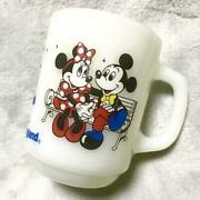 Disney Land Opening Anniversary Cup 1983 Tokyo Japan Limited Fire King Rare