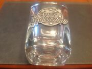 Shot Glass - From Planet Hollywood- Pewter Logo-brand New-free Ship In Canada