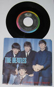 The Beatles - 1980s Canadian 45 W/ Picture Sleeve - A Hard Day's Night Nm/vg+