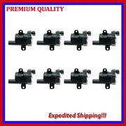 8pcs Ignition Coils Ufd262 For 2005 2006 Gmc Sierra 1500 5.3l V8 Electric/gas