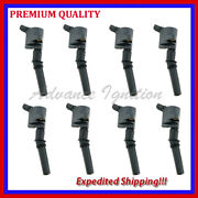 8pc Ignition Coil Ufd267 For Ford Expedition 5.4l V8 2002 2003 2004