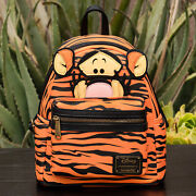 Nwt Loungefly Disney Winnie The Pooh Tigger Figural Mini Backpack New With Tags