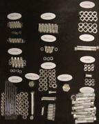 Complete Chrome Motor Engine Stock Hardware Kit For Harley Early Panhead 1958-65