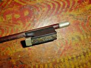 Vintage Marked Dodd Violin Bow 29 Length 59 Grams Also Marked Saxony 19th C