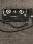 Rrl Biker Wallet Chain Men Collectible Studded Leather F/s