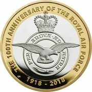 Great Britain 2 Pounds 2018, Proof, 100th Anniversary - Royal Air Force