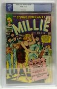 Millie The Model 135 1966 Beatles Appearance Cgg 9.2 Nm Off-white Pages