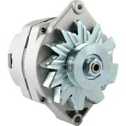 Alternator For John Deere Tractor 63 Amp Delco 1-wire 1/2 Inch Pulley Adr0188