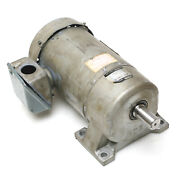 Yasagawa Brother 3-phase 1/2hp 208/230/460v Induction Motor With 101 Gearbox