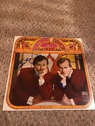Smothers Brothers Dual Autographed Signed Comedy Hour Album Cover Jsa