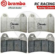 4 Front Brake Pads Brembo Carbon Racing Benelli Three K 899 2014