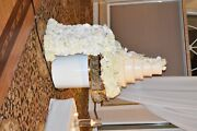 Crystal Wedding Tables Banquet Dining Hall Table