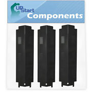 3-pack Bbq Grill Heat Shield Plate Tent Parts For Savor Pro Gd4205s-m