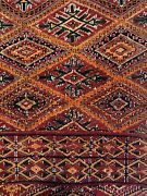 Maghreb Moroccan - 1920s Antique Tribal Rug - Pre World War 1 - 6.3 X 11.1