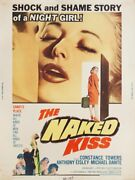 The Naked Kiss 1964 U.s. 30 By 40 Poster