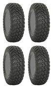 Four 4 System 3 Rt320 Atv Tires Set 2 Front 32x10-15 And 2 Rear 32x10-15