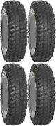 Four 4 System 3 Xcr350 Atv Tires Set 2 Front 28x10-14 And 2 Rear 28x10-14