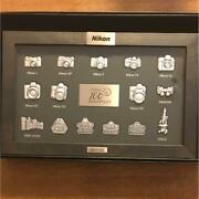 Nikon 100th Anniversary Tapestry Gift Collectible Original Limited F/s