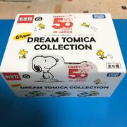 Dream Tomica Collection Mini Car Snoopy Collectible Japan Anime Rare F/s