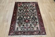 Old Hand Made Persian Rug From The Greater Hamedan Region 155 X 105cm