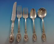 Victoria By Frank Whiting Sterling Silver Flatware Service 8 Set 40 Pieces