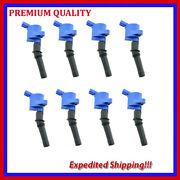 8pc Bluetec Ignition Coil Ufd267b For Ford F-250 5.4l V8 1997 1998 1999 20002001