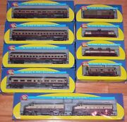 Athearn Napa Valley 4 Passenger Cars 4 Freight Cars And 2 Locomotives