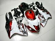 Candy Red White Black Abs Injection Fairing Kit Fit For 2008-2016 Gsxr1300