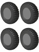 Four 4 Sti Chicane Rx Atv Tires Set 2 Front 33x10-15 And 2 Rear 33x10-15