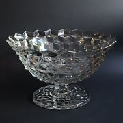 Fostoria American Clear Tom And Jerry Footed Fruit Punch Bowl