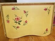 Antique Vintage Wood Book/eat/bed Tray Adjustable Portable Podium Style