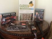 Bbq Grill Group Apron, Sign, Tool Set, Scraper, Grill Basket, Thermometer. New