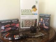 Bbq Gril Group Apron, Sign, Tool Set, Scraper, Thermometer. New Nice