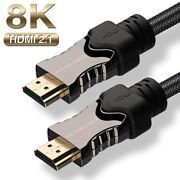 Strong 6 Feet / 2m Hdmi 2.1 Cable For 4k Blu-ray Players, Smart 3d, Media Pc