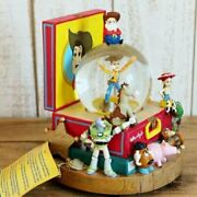 Disney Toy Story Discontinued Snow Dorm Collectible With Music Box F/s From Jpn