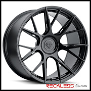 Blaque Diamond 19 Bd-f18 Black Concave Wheel Rims Fits Benz R350 R500