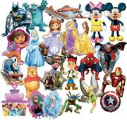 Licensed Character Birthday Party Ranges - Tableware Supplies Decorations