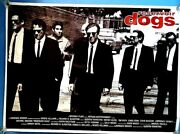 Reservoir Dogs 55 X 40 Giant Movie Poster Signed Quentin Tarantino + 6
