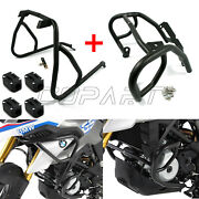 Highway Engine Guard Crash Bar Tank Protector With Bumper Block For Bmw G310gs