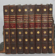 History Of The Rebellion And Civil Wars In England Clarendon Leather Book Set