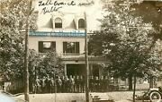 Ohio, Oh, Springfield, Wittenberg College Ato Frat House 1914 Real Photopostcard