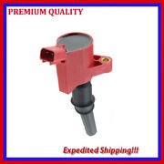 1pc High Energy Ignition Coil Ufd267r For Ford F-250 Super Duty 6.8l V10 2000