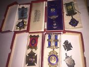 Buffalo Lodge Medals And Sports Sterling Silver Grand Pooba Mann 1927 To 1947