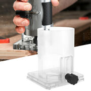 Wood Trimmer Router Transparent Plastic Base Power Tool Protective Accessories