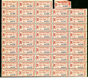 Us Stamps Fx Ny1 Mint Nh Pane Of 48+ 1 Used Showpiece Scott Value 2400.00+