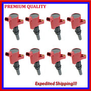 8pc High Energ Ignition Coil Ufd267r For Ford Expedition 5.4l V8 2003 2004